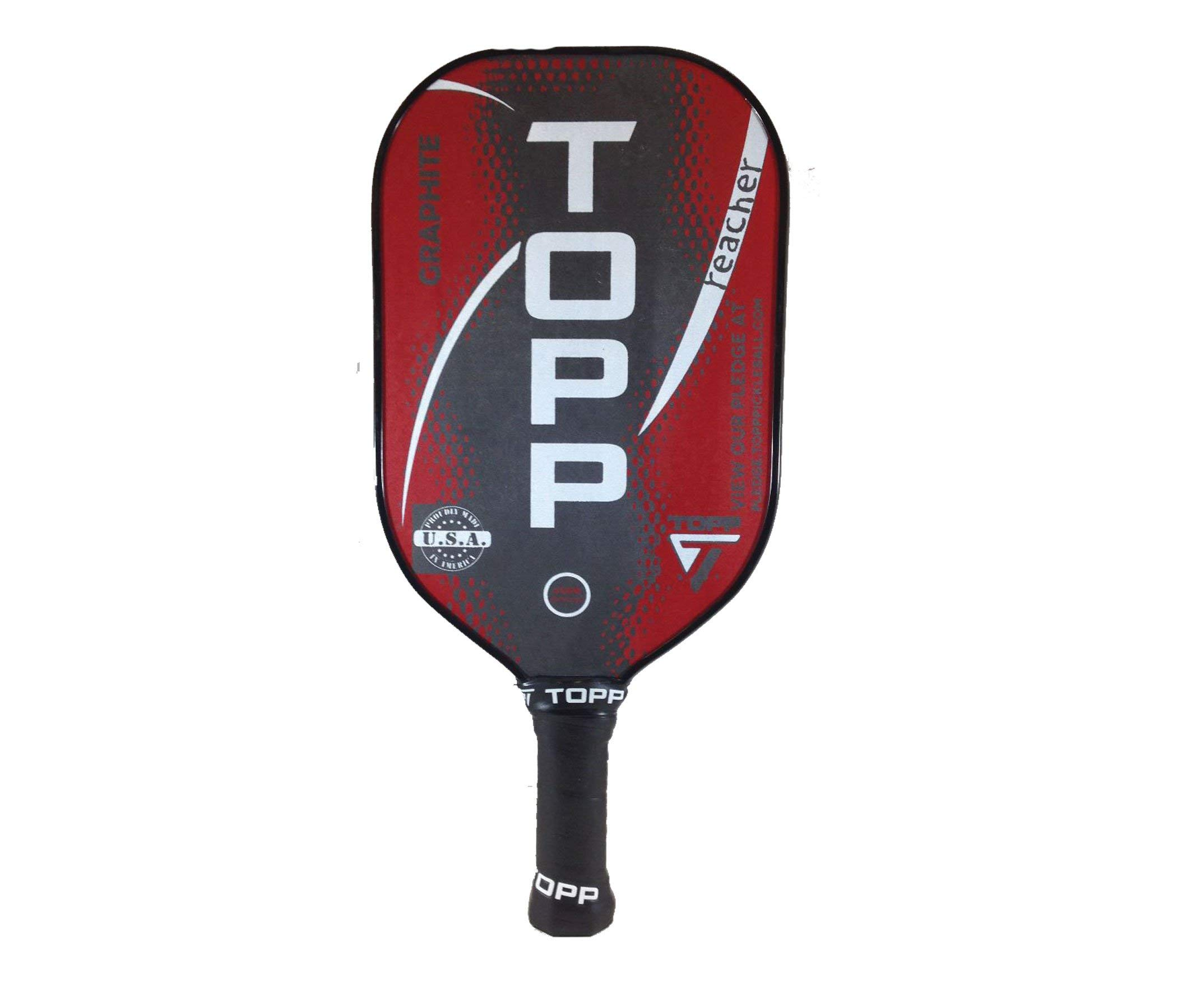 Topp Pickleball Paddle Reacher Graphite Blade -4D2M