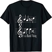 Musicians Band Geek Music Notes Spelling Funny T Shirt
