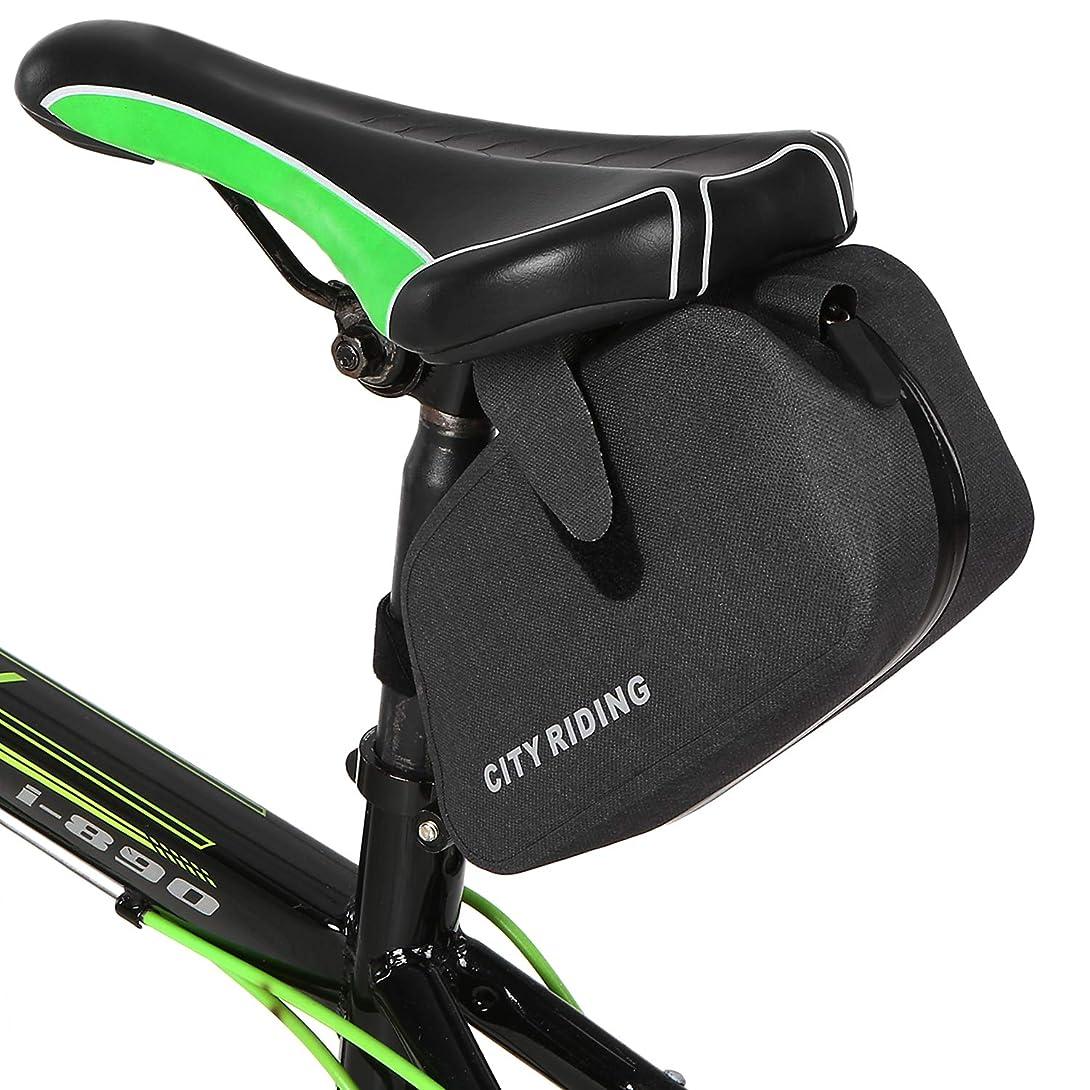 勇気借りるもっともらしいRoloiki 防雨自転車サドルバッグサイクリングシートポストバッグMTB自転車シートバッグ