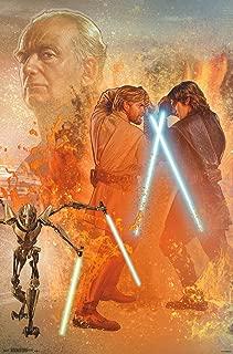 Trends International Star Wars: Revenge of The Sith - Celebration Mural Wall Poster, 22.375
