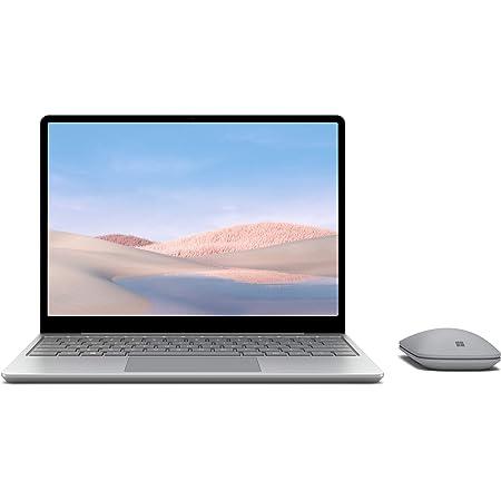 【Microsoft ストア限定】2点セット: Surface Laptop Go 12.4インチ / Core-i5 / 4GB / 64GB プラチナ + Surface モバイル マウス グレー