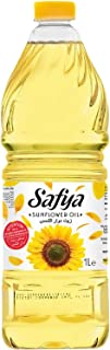 Safya - 100% Pure Sunflower Oil, 1 L (33.8 fl oz)