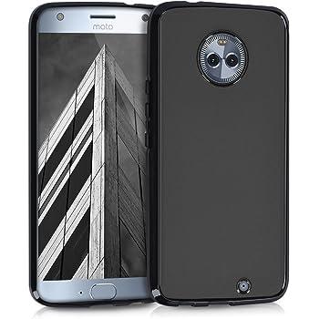 kwmobile 対応: Motorola Moto X4 ケース - TPU ソフト スマホカバー 耐衝撃 滑り止め 保護ケース モトローラ モト