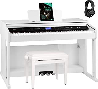 FunKey DP-2688A WH piano numérique blanc brillant set