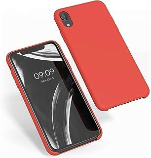 kwmobile Hülle kompatibel mit Apple iPhone XR   Handyhülle gummiert   Handy Case in Rot