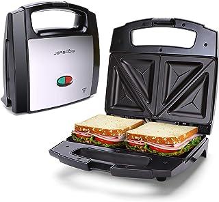 Aigostar Lamo - Sandwichera, 800W, revestimiento antiadherente, libre de BPA, almacenamiento vertical, piloto LED indicado...