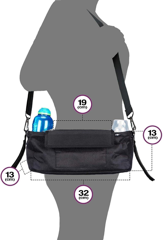 Plus 2/free x Buggy clip Un must per carrozzina /& Buggy di Exclusive phone-flip-pocket mobile phone Holder /& copertura impermeabile BTR carrozzina Buggy organizer portaoggetti per passeggino