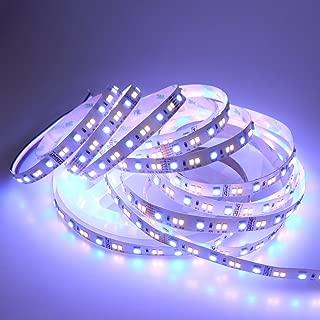 LEDENET RGB+W+WW 24V Flexible LED Strip Lighting Full Color Changing Color Temperature Adjustable Cold White Warm White CCT RGB LED Tape Ribbon Lamp 5m 16.4ft Long Non-Waterproof