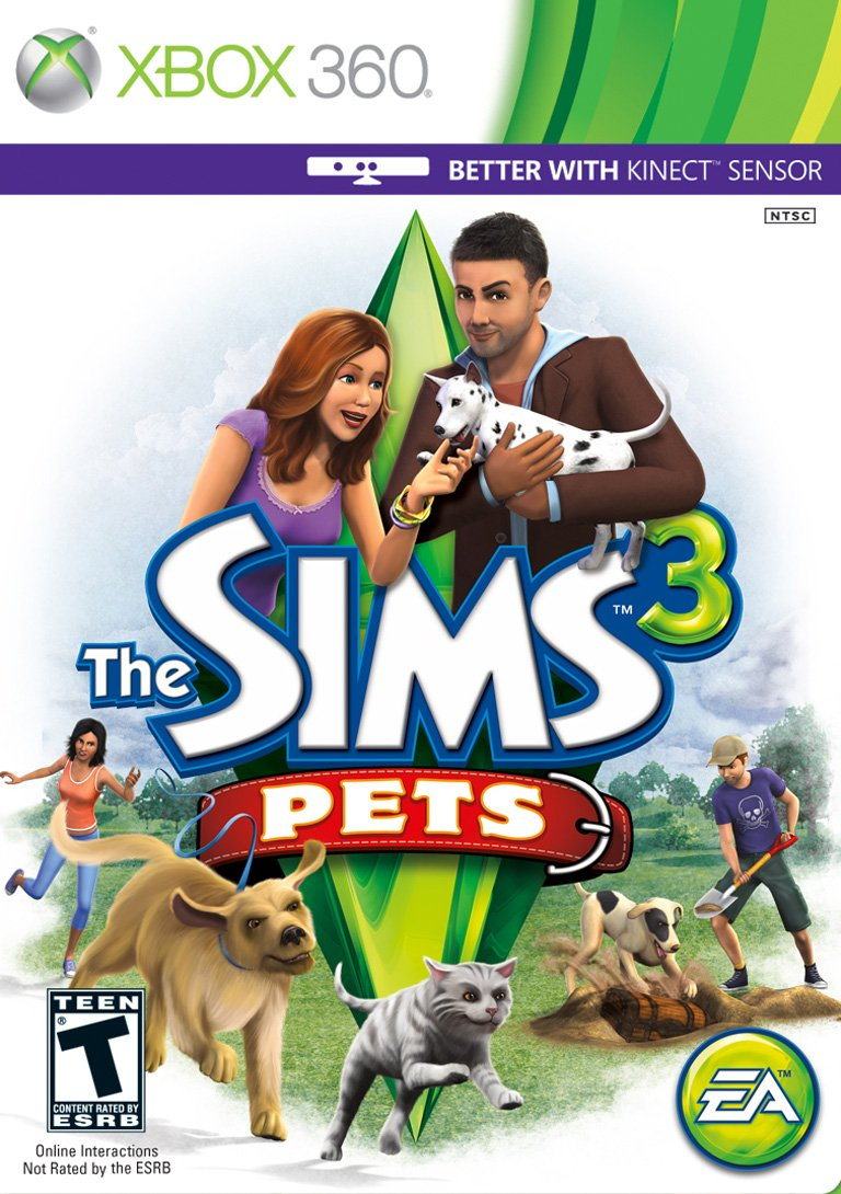The Sims 3: Pets - Deluxe 2021 spring and summer new Xbox 360