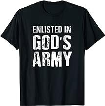 Gods Army - Scripture Shirts for Men Women - Bible Verse