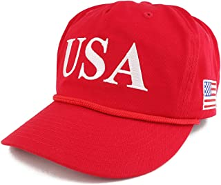 Donald Trump USA 45th President Embroidered Cap with Rope