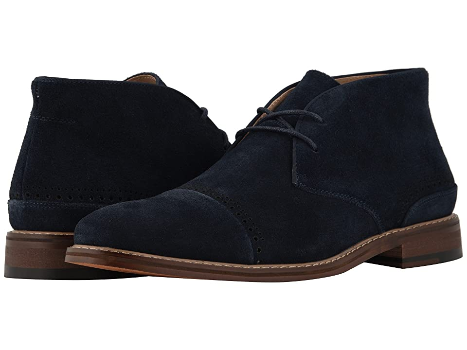 Stacy Adams Avery (Navy Suede) Men