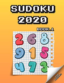 SUDOKU 2020: page a day sudoku puzzles for the 2020 easy to hard Book.1