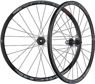 MICHE(ミケ) ディスクブレーキ専用アルミクリンチャーホイール [RACE AXY-WPDX] 前後セット 700C(ETRTO:622-17C) タイヤ幅:25~32mm シマノ11速対応 ワイドリム採用 UCI認定 ロード向け チューブ...