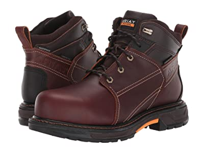 Ariat 6 WorkHog(r) XT H2O Carbon Toe (Russet Brown) Men