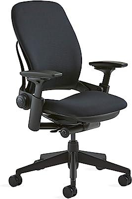 Steelcase Leap Fabric Chair, Black,