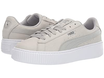 PUMA Platform Shimmer (Gray Violet/Puma White) Women