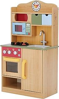 comprar comparacion Teamson- Cocina de madera con accesorios, Color (Primary Products TD-11708A)