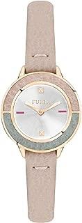 CLUB Woman's Quartz Brown Leather Strap Watch, (Model: R4251109509)