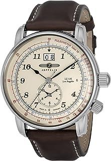 [ツェッペリン]ZEPPELIN 腕時計 LZ126 LosAngeles アイボリー文字盤 86445 メンズ 【並行輸入品】