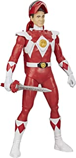 Power Rangers E86475X0 Mighty Red Ranger Morphin Hero 12-inch Action Figure Toy with Accessory, Inspired TV Show