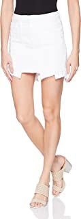 Hudson Jeans Women's Weekender Step Hem Jean Skirt