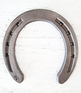 New Steel Horseshoes - Size 0 - R3-F - Sand Blasted -The Heritage Forge Size 0 - 40 Shoes