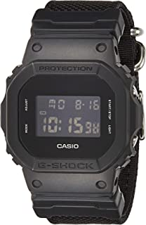 Casio DW-5600BBN-1 G-Shock Black Out Basic Digital Men's Watch (Nylon Band)