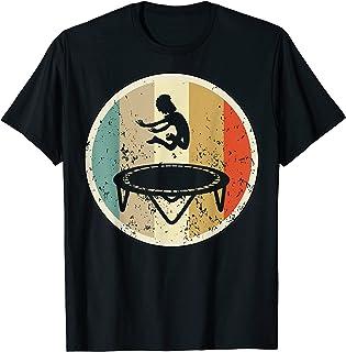 Vintage Rétro drôle sauteur de trampoline Des sports T-Shirt