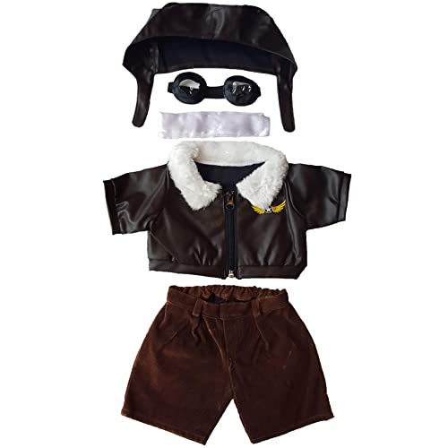 """Teddy Bear COWBOY Outfit w// BROWN HAT CLOTHES Fit 8/""""-10/"""" Build-a-bear !!NEW!!"""