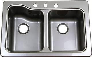 Lippert 209586 Better Bath RV Double Sink 25