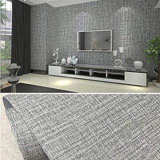 PVC waterdicht zelfklevend behang textielachtig patroon kleeffolie waterdicht behang 10 x 0,6 m decoratief peel stick beha...