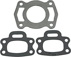 (Compatible With Sea-Doo) Set of 3 Premium Venom Brand 717/720 Exhaust Manifold Gasket Fits MANY 1994-2004 GS GSI GTI GTS GTX HX SP SPI SPX XP Speedster Sportster (See FIT chart in Description)