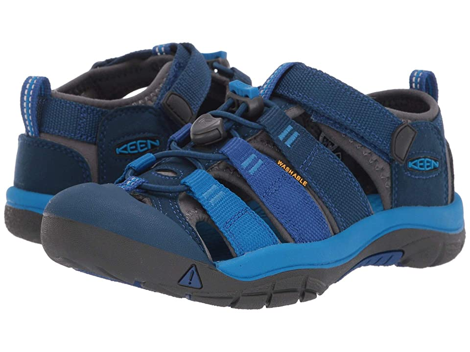 Keen Kids Newport H2 (Little Kid/Big Kid) (Blue Opal/Vibrant Blue) Kids Shoes