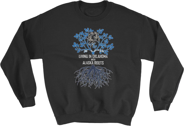 HARD EDGE Regular discount DESIGN Unisex Large discharge sale Living In Swe with Alaska Roots Oklahoma