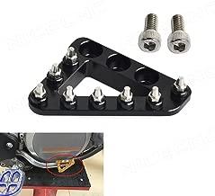 NICECNC Rear Brake Pedal Step Plate Tip for HUSABERG FE 250/350/501 2013 TE 250/300 2012-2013 FE 450 2009-2010 FE 570 2009-2011 FS 570 2011 FE 390 FX 450 2010 Beta 250/300/430/450 2013-2017
