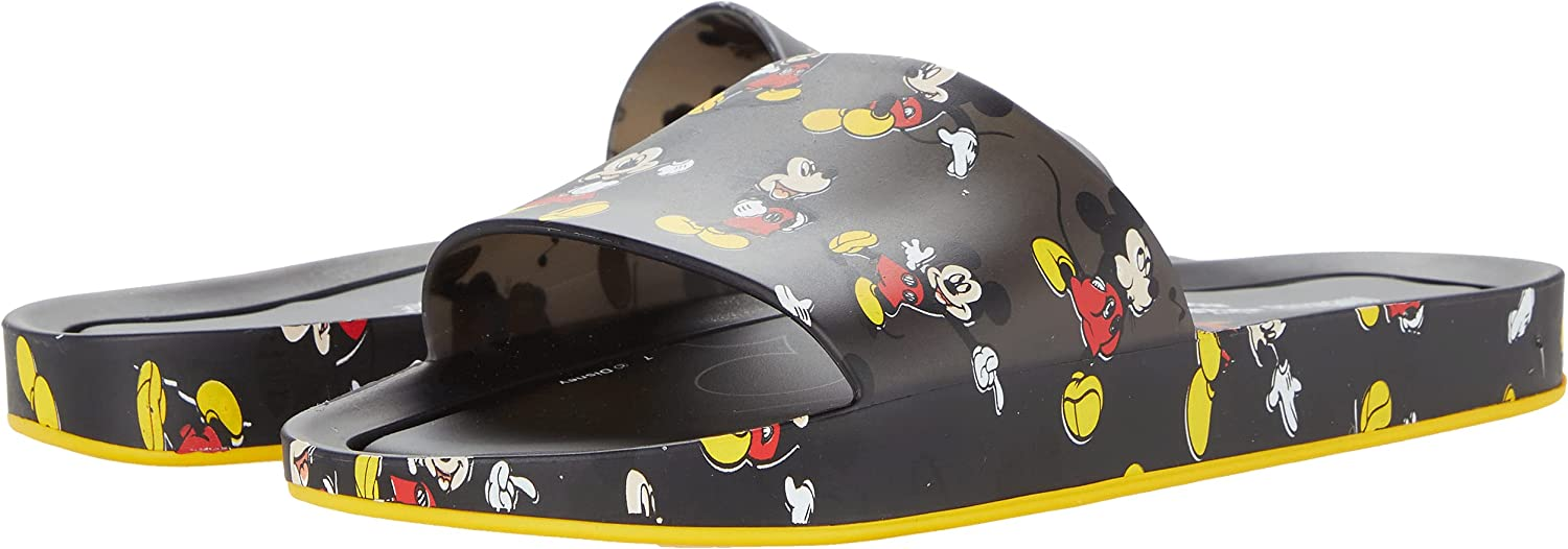 Melissa Shoes Beach Slide + Mickey and Friends III