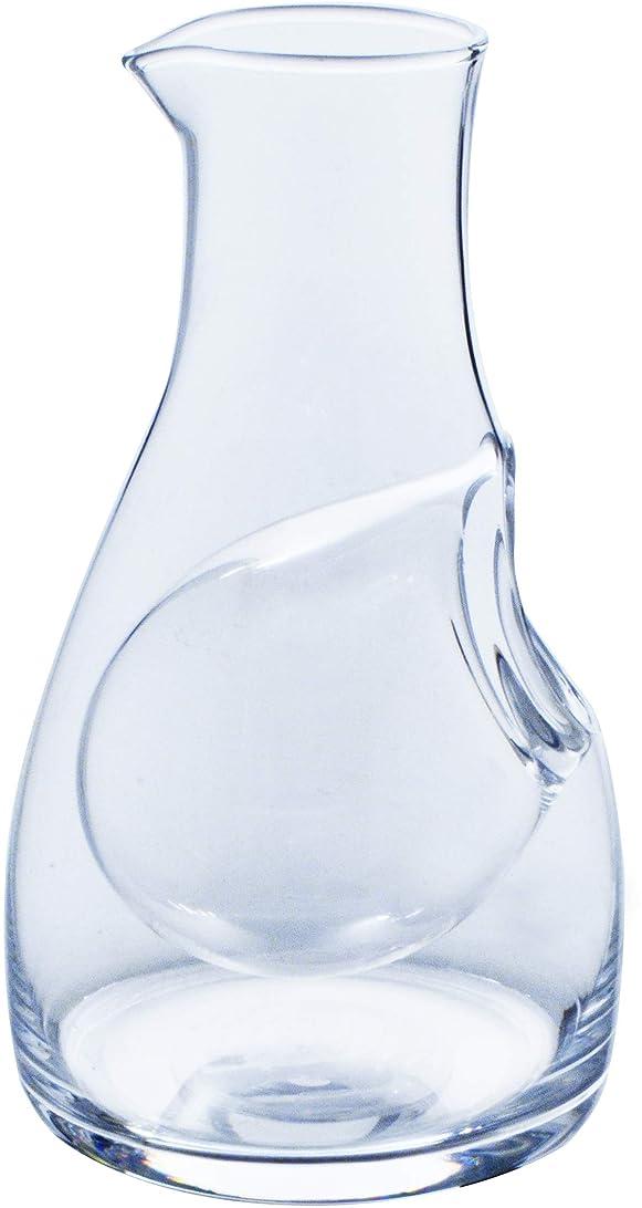 トーナメント制約インポート東洋佐々木ガラス 冷酒カラフェ 550ml カラフェ?バリエーション 大 氷ポケット付 日本製 61278