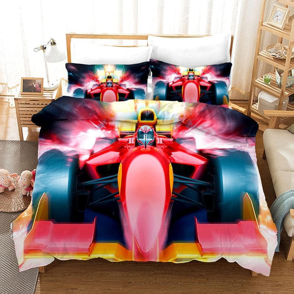MJWLKJ 3D Pattern Bedding Set for F1 Ranking TOP13 Microfiber Soft 100% Girls New Free Shipping