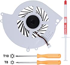 Li-SUN CPU Cooling Fan KSB0912HE-CK2MC, Internal Cooler Replacement for Sony Playstation 4 PS4 CUH-12XX Console Series (CUH-1200 CUH-1200AB01 CUH-1200AB02 CUH-1215A CUH-1215B) with Tool Kit