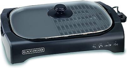 Black & Decker Appliances LGM70 2200-Watt Open Flat Grill Machine (Black)