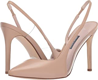 Nine West Women's Toffee Pointed Toe Slingback Pump