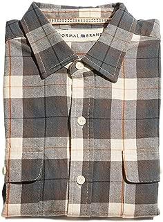 The Normal Brand Bernard Flannel Button Up Shirt