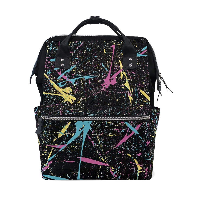 Creative Art Guitar Pattern School Backpack Large Capacity Mummy Bags Laptop Handbag Casual Travel Rucksack Satchel For Women Men Adult Teen Children