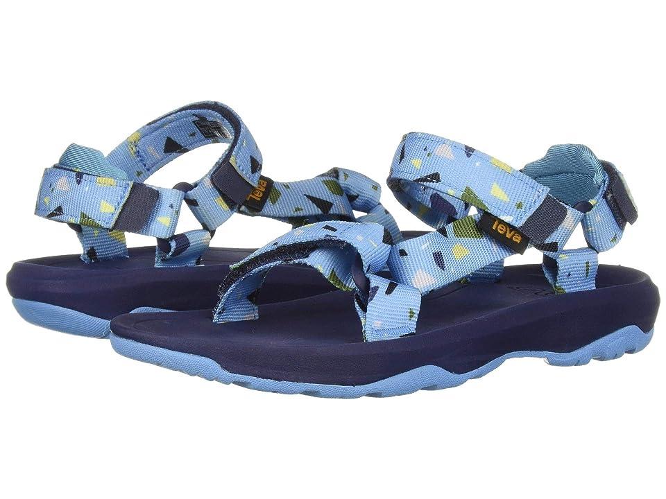 Teva Kids Hurricane XLT 2 Print (Little Kid) (Terrazo Print Blue) Boys Shoes