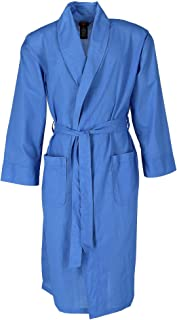 Hanes Men's Lightweight Woven Broadcloth Robe