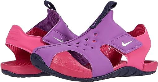 Purple Nebula/Metallic Silver/Watermelon