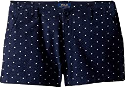 Cotton Seersucker Shorts (Little Kids/Big Kids)