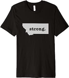 Best montana strong t shirts Reviews