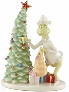 Lenox Grinch Christmas Crook Figurine Thief Stealing Tree How Grinch Stole Dr Seuss